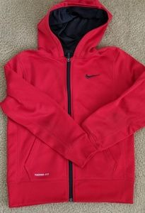 Nike boys dri fit full zip hoodie EUC